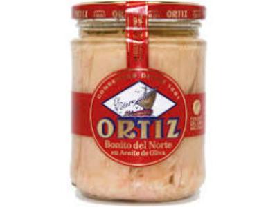 Bonito 'espelette' olijfolie ortiz