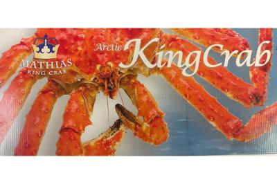 King krab gespilt