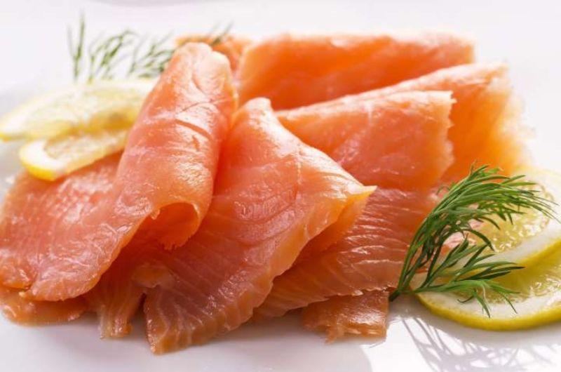 Gerookte en gebakken vis